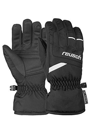 Reusch Unisex Fingerhandschuh Bennet R-TEX® XT Junior mit atmungsaktiver Funktion black/white, 6