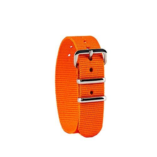 EasyRead time teacher WS-O Uhrenarmband, orange (weitere Farben erhältlich)