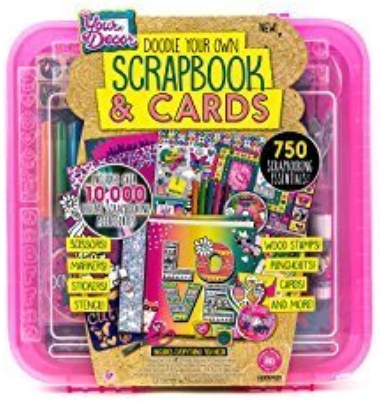soporte minorista mayorista Doodle Deco Scrapbook and and and Cocheds  calidad auténtica