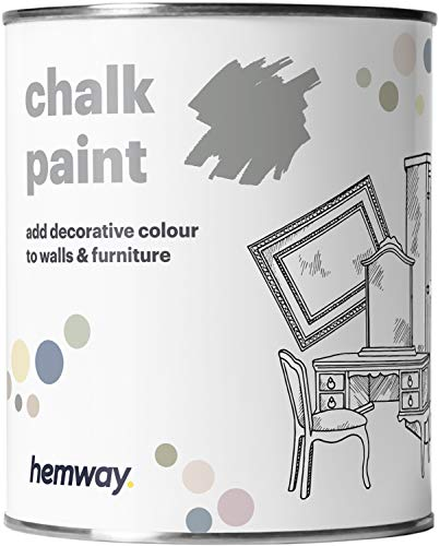 Hemway Dove Grey Chalk Paint Matt Finish Wall and...