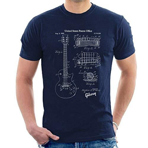 Gibson Les Paul Patent Men T-Shirt McCarty Guitar