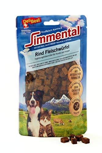 DeliBest SWISS MENU Rind-Menu mit Reis I Nassfutter für Hunde aus 100% Schweizer Rindfleisch I glutenfrei & ohne andere Zusätze I hochwertiges Hundefutter Adult I 200 g Hundewurst