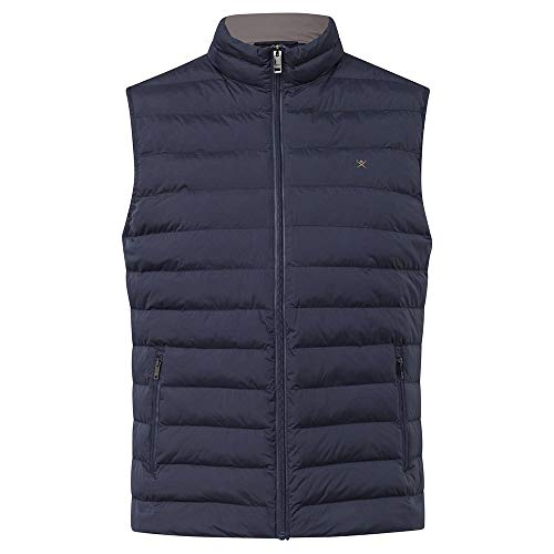 Hackett Mens LW Gilet Jacket, 595NAVY, L
