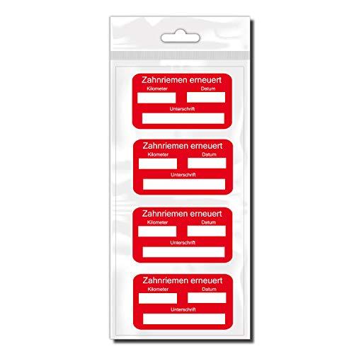 Klebe-X Zahnriemen erneuert Sticker Fahrzeug Sticker Zahnriemen | D02062