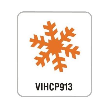 Artemio VIHCP913 Perforatrice à Levier 3,5 cm Flocon de Neige #2, Plastique, Multicolore, 9,6 x 6,5 x 16 cm