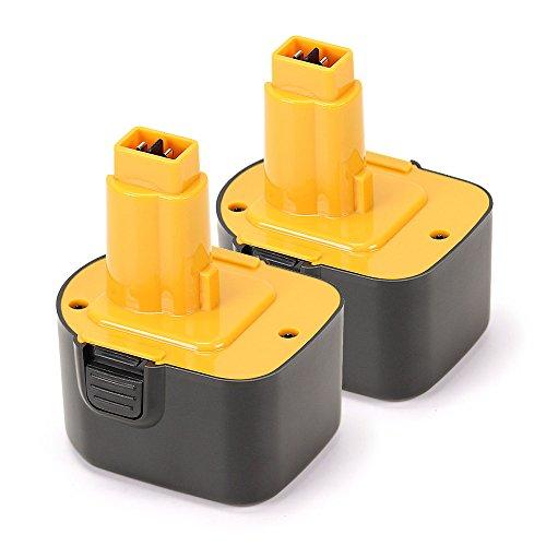 Bonacell Batteria di ricambio 12 V 3,5 AH Ni-Mh per Dewalt DE9071 DE9501 DE9074 DE9075 DC9071 A9252 A9275 DE9037 DE9072 DW9071 DW9072 DW927 DC756 EZWA49