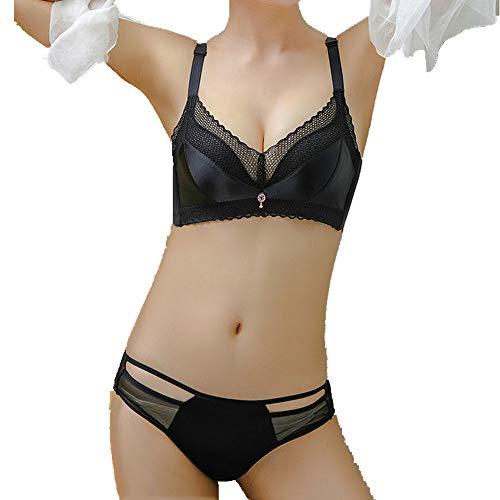 N\P Sammeln Sie sexy No Steel Ring Cross Back BH Unterwäsche Damen Anti Sagging BH Anzug