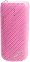 Vivitar VM30015-PNK-TWD 4000 mAh Power Bank, Pink