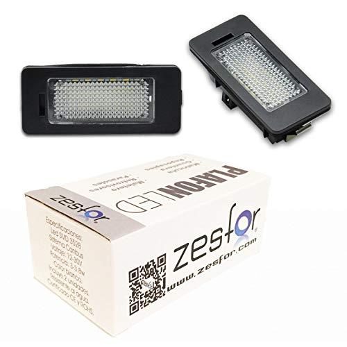 Zesfor Luces de matrícula LED para BMW X6 E71 (2008-2014)