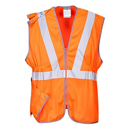 Portwest RT20 hi-vis vest lang Gort 4XL oranje