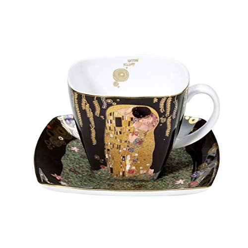 Goebel 66884214 Gustav Klimt Kaffeetasse Der Kuss