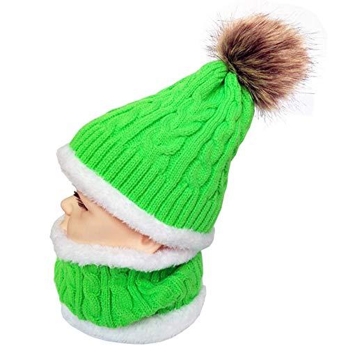 Meredeng beanie muts herfst winter kindermuts sjaal warme jongens meisjes gebreide muts kinderen mutsen baby muts sjaal