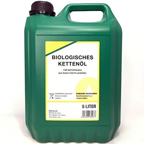 BIOSTAR - Kettensägenöle, Größe 5 Liter