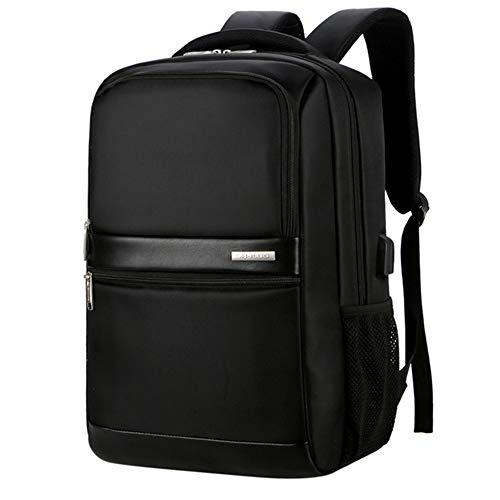 ARMAC Bolsa para portátil USB de carga para auriculares, impermeable, para ocio, mochila de campus, mochila de viaje de gran capacidad
