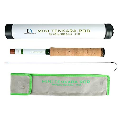 M MAXIMUMCATCH Maxcatch Mini Tenkara Fishing Rod and Rod Combo (Mini Tenkara Rod, 12')