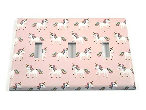 Triple Manufacturer OFFicial shop Light Switch Plate in Now free shipping Unicorn 158T