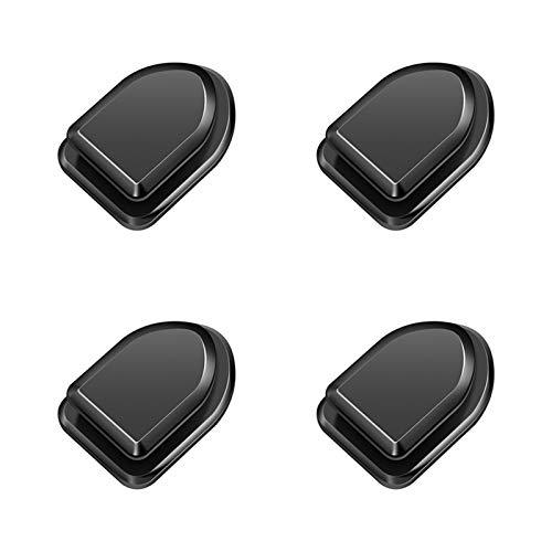 enenjie ENE Ganchos de automóviles Organizador Almacenamiento Perchher Accesorio de automóvil Adhesivo Adhesivo Hanger Mini (Color Name : 4 Piece Clip)