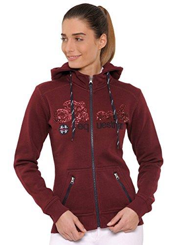Roxie Jacket Sequin - DE (Farbe: Bordeaux; Größe: M)