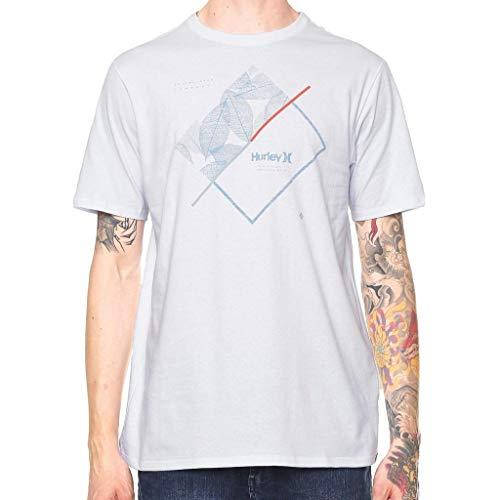Camiseta Hurley Silk Breaking Lines Branca