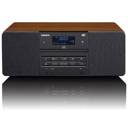 Lenco DAR-050 - Table Radio - DAB+ - USB - CD - AUX - Holz