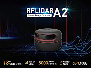 rplidar a1m8 360 degree laser scanner development kit