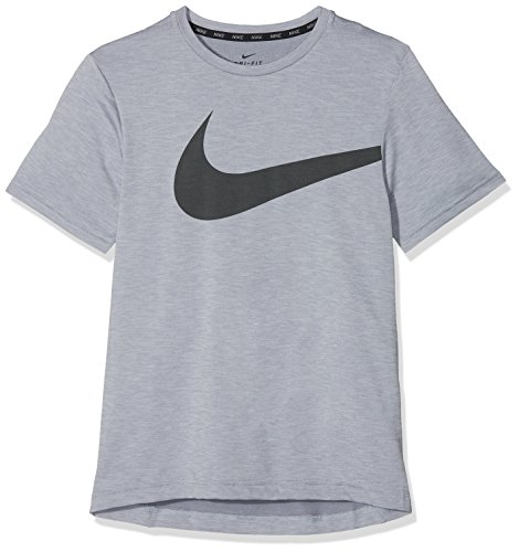 Nike Kinder Breathe Trainingsshirt, Pure Platinum, S - 128-137 cm