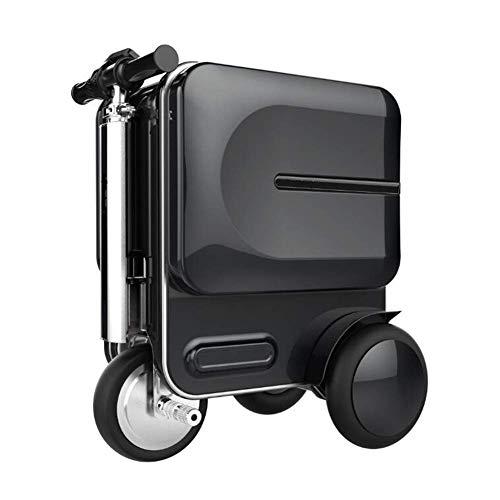 DXFK.AM Eléctrico Maleta Scooter de Equipaje 20 Pulgadas Tripulado Manejable Maleta para...