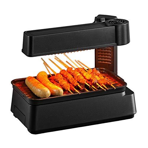 Máquina de cocinar olla caliente eléctrica casera Estufa de la barbacoa sin...
