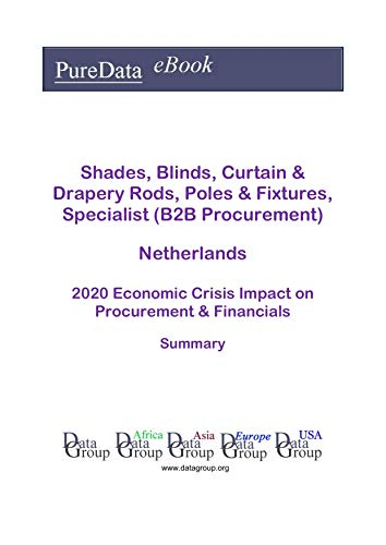 Shades, Blinds, Curtain & Drapery Rods, Poles & Fixtures, Specialist (B2B Procurement) Netherlands Summary: 2020 Economic Crisis Impact on Revenues & Financials (English Edition)