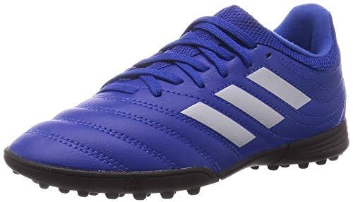 adidas COPA 20.3 TF J Soccer Shoe, ROYBLU/SILVMT/CBLACK, 38 2/3 EU