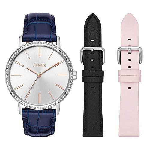 Reloj Chaps Whitney para Mujer 36mm, pulsera de Acero Inoxidable