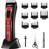 Hair Clippers for Men Cordless Touch Travel Switch with 8 Limited Comb Charging
