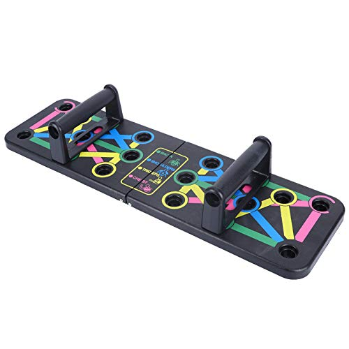 Soporte multifunción para tabla push-up, plegable, completo, fácil de usar, empuñadura push up, entrenamiento físico, entrenamiento, gimnasio, herramienta de ejercicio para hombres y mujeres