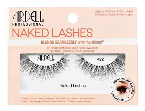Ardell Naked Lashes Echthaarwimpern, das Original für einen unverkennbaren Look (Style 422)