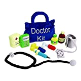Product Image of the Excellerations Toddler Plush Doctor Kit, 10 Pieces, Educational Toys, Kids Toy,...