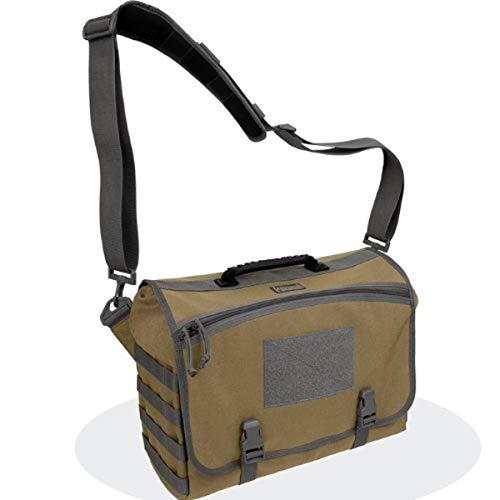 Maxpedition Sac bandoulière, Vesper(TM) Tactical Laptop Messenger Bag (Khaki-Foliage), 4