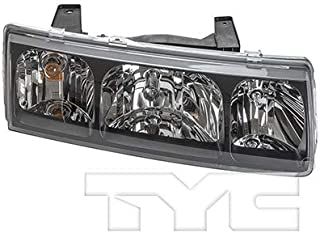 CarLights360: Fits 2002 2003 2004 Saturn Vue Headlight Assembly Passenger Side (Right) NSF Certified w/Bulbs - Replacement for GM2503228