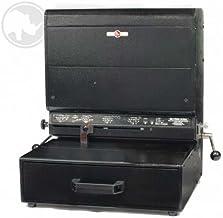 product image for Rhin-O-Tuff ONYX HD7700H ULTIMA 14 Heavy Duty Horizontal Modular Punch with 3-Hole Looseleaf Die by Rhin-O-Tuff