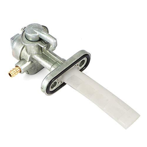 Yctze Interruptor de combustible, válvula de combustible para motocicleta, interruptor de llave de purga, grifo de aceite, piezas de motor para GS125