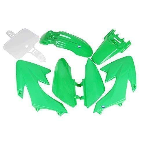 HMParts Pit Bike/Dirt Bike Top 110 CCM Verkleidung Set Neu Typ 1 grün