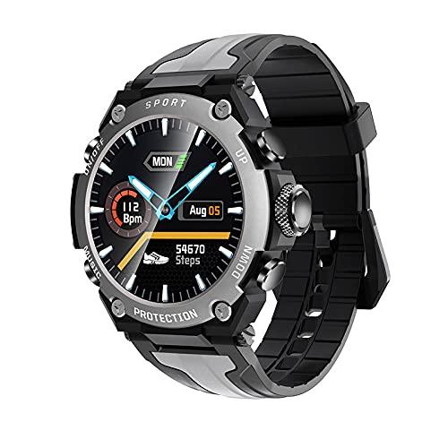 Reloj inteligente fitness pulsera ip68 impermeable respiración entrenamiento detección de frecuencia cardíaca llamada Bluetooth hombres y mujeres podómetro-B