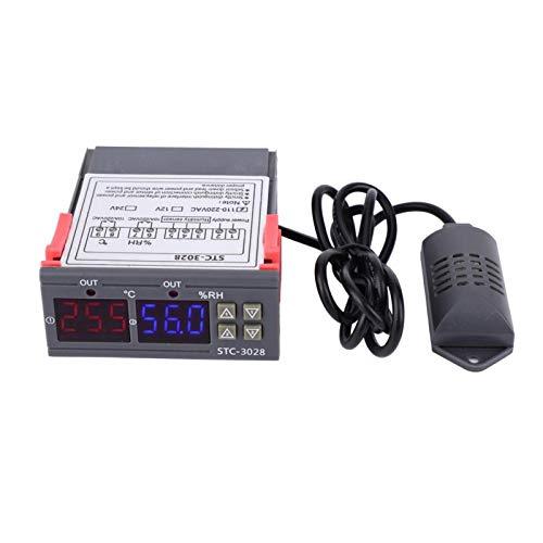 Sensor de pantalla digital, sensor de control de humedad, duradero de usar, para enfriar máquinas de agua Máquinas de mariscos(110~240VAC)