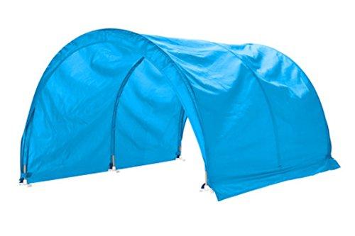 Ikea Kura - Tenda da letto, 1 pezzo, colore: Blu