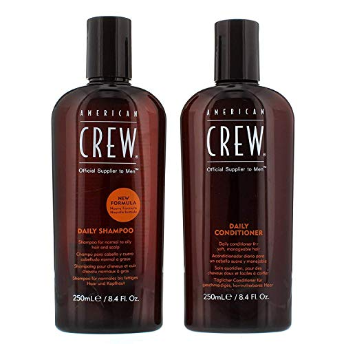 Gifts & Sets by American Crew Daily Shampoo 250ml & Daily Conditioner 250ml by American Crew