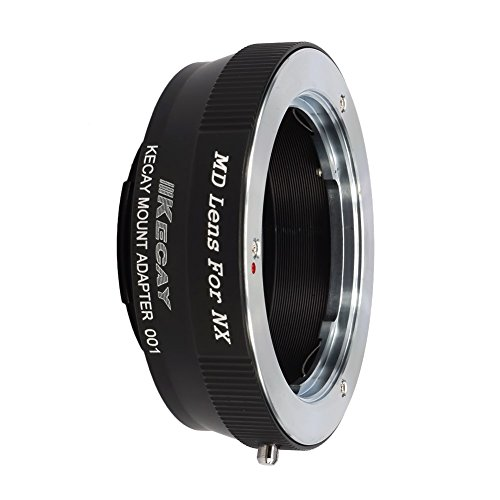 KECAY Objektiv Adapterring Mount Converter für Minolta MD MC Objektiv an Samsung NX-Mount-Kamera Objektiv Adapter für Samsung NX1 NX3000 NX2000 NX300M NX300 NX1000 NX210 NX200 NX30 NX20 NX5 MD-NX