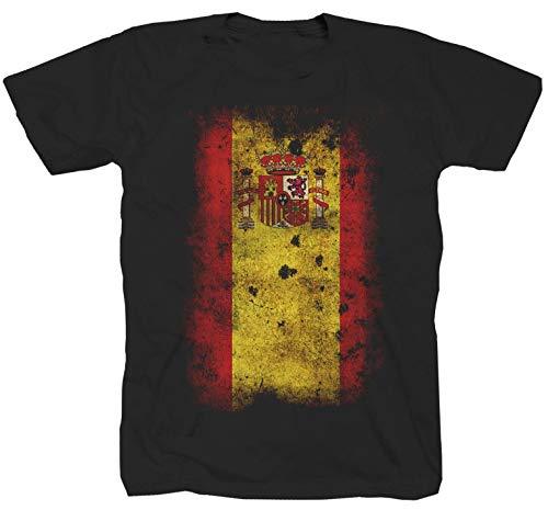 Camiseta de España Negro M