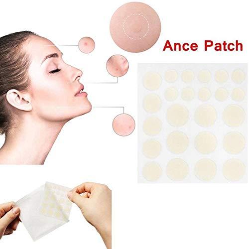 Parche para el cuidado facial de la isla de la nieve para el acné, granos, tratamiento de cicatrices faciales, 24 parches para el cuidado de la cara, hemorroides, acné