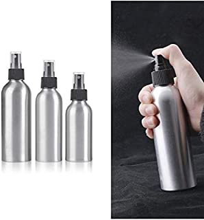 QZ Small Portable Refillable Aluminum Spray Bottle for Travel Convenient Empty Perfume Atomizer Bottles Cosmetic Container...