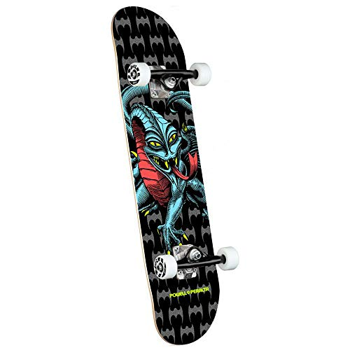 Powell-Peralta Cab Dragon One Off Birch Skateboard, 19,7 x 80,5 cm, Schwarz