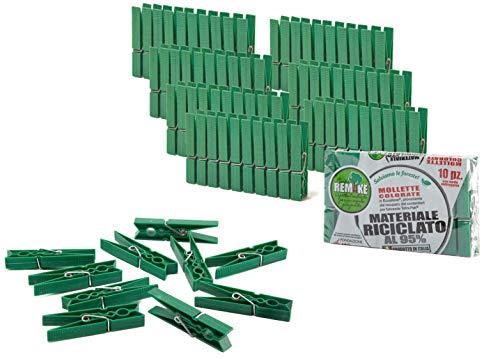 pequeño y compacto CAMBIO 80 piezas – 95% pinzas de ropa de plástico reciclado ecológico.  formar…